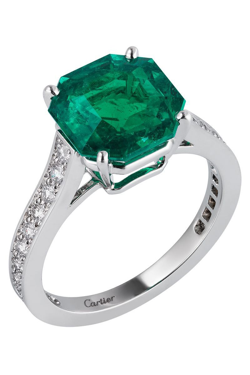 644c210d9a2d9 41 Unique Emerald Engagement Rings - Beautiful Green Emerald Engagement  Rings