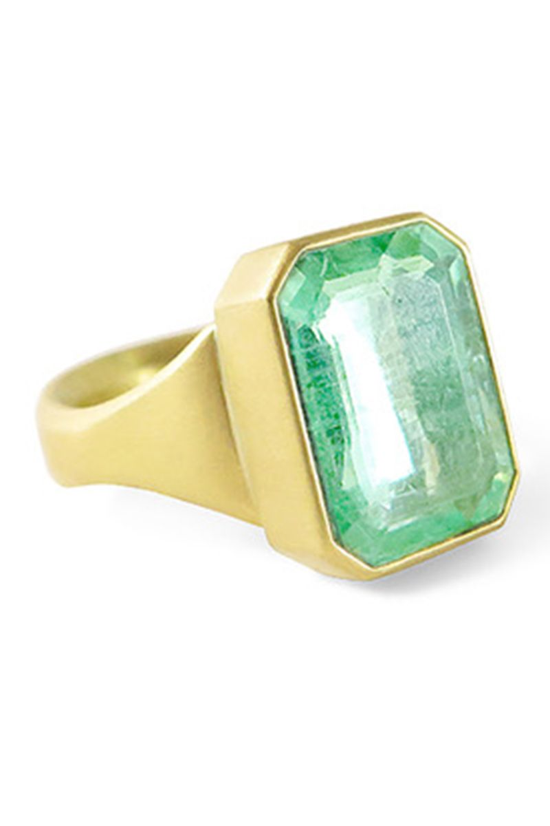 1cd1530609f3b 41 Unique Emerald Engagement Rings - Beautiful Green Emerald ...