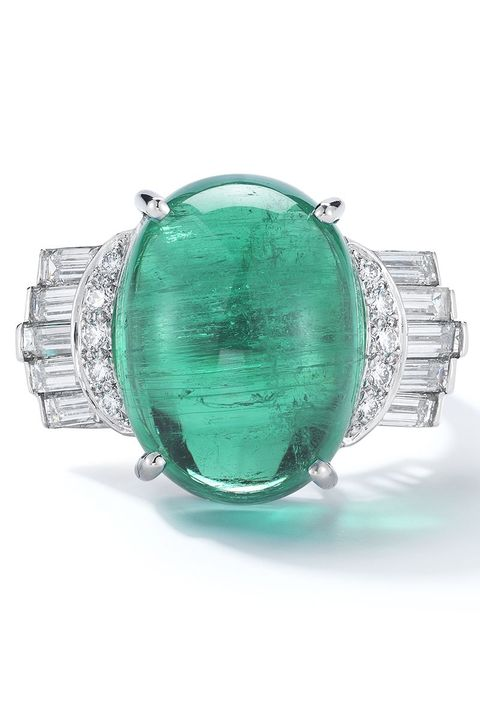48 Unique Emerald Engagement Rings - Beautiful Green