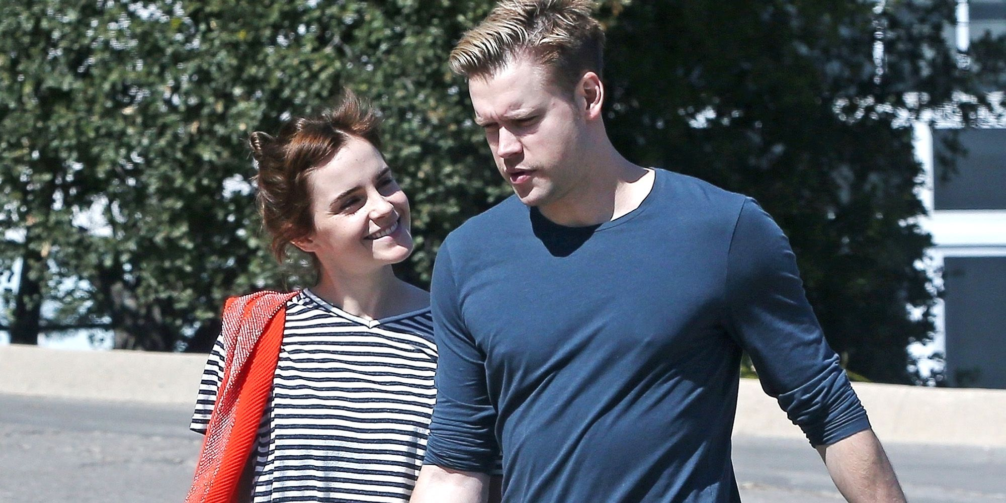 Emma Watson and Rumored Boyfriend Chord Overstreet Hold Hands in First PDA Photo