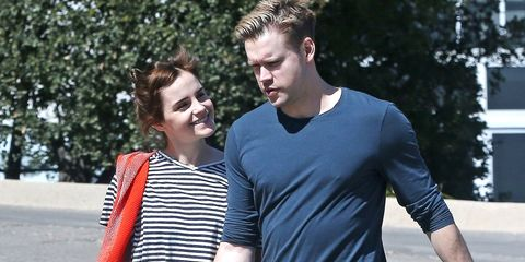 Emma Watson And Rumored Boyfriend Chord Overstreet Hold Hands In