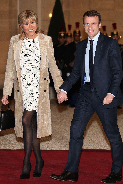 Emmanuel And Brigitte Macron Photos Emmanuel Macron And Brigitte Trogneux S Cutest Moments