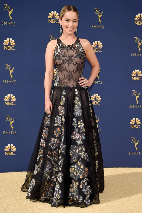 Image result for emilia clarke emmy 2018