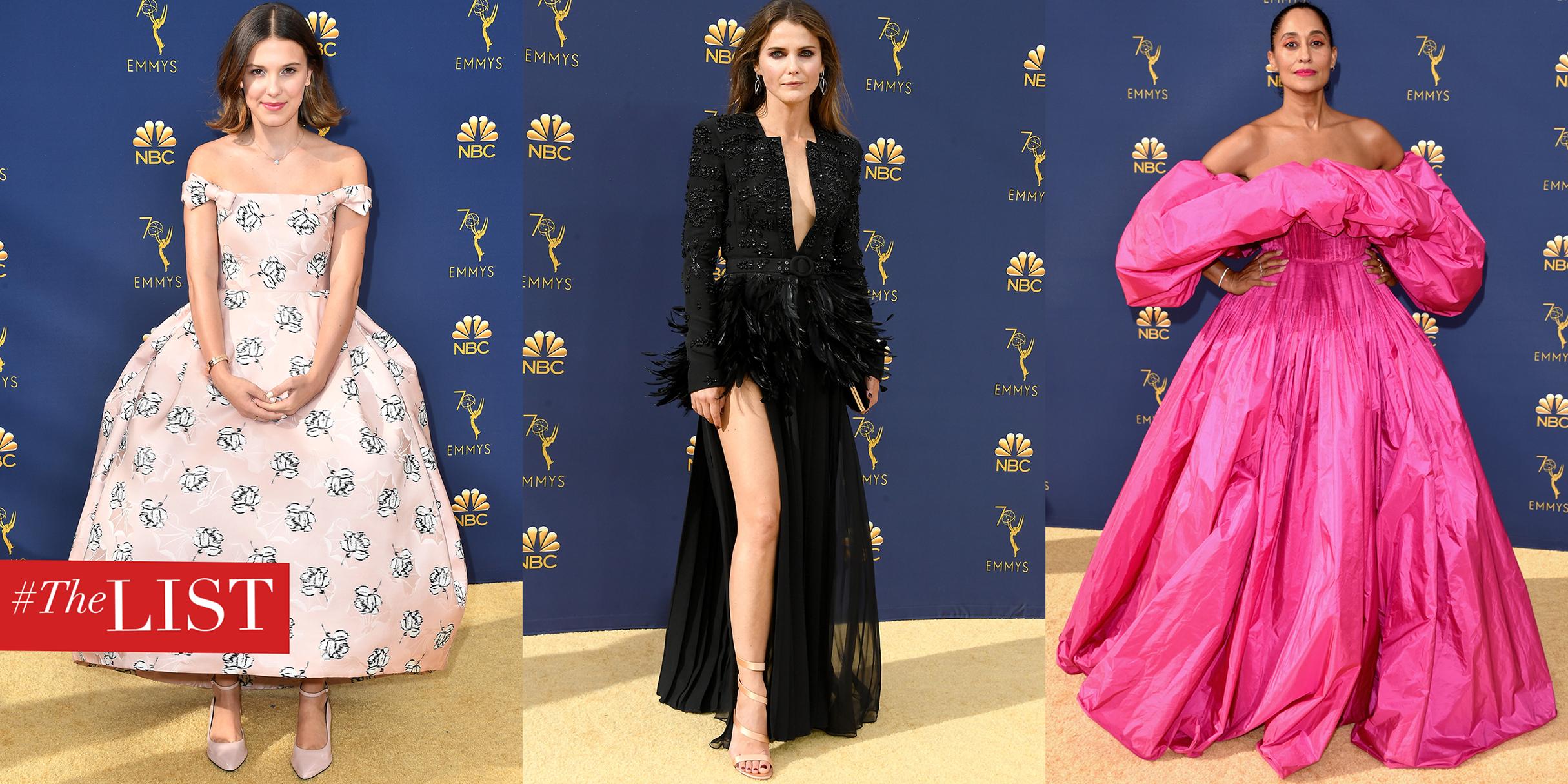 Best Dressed Emmys 2019 Emmys 2018 Best Dressed   Emmy Awards Celebrity Red Carpet Dresses