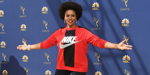 3ccdfe5927ba4 Actress Jenifer Lewis Wears Nike on the Emmys Red Carpet To Support ...