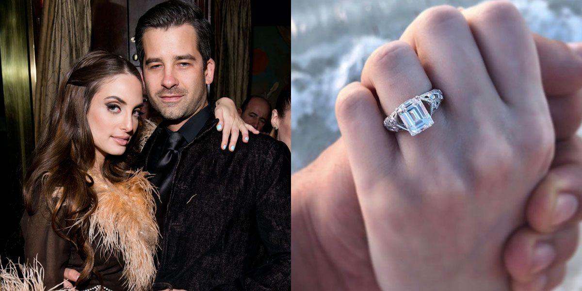 60 Best Celebrity Engagement Rings Unique Celeb Engagement Rings