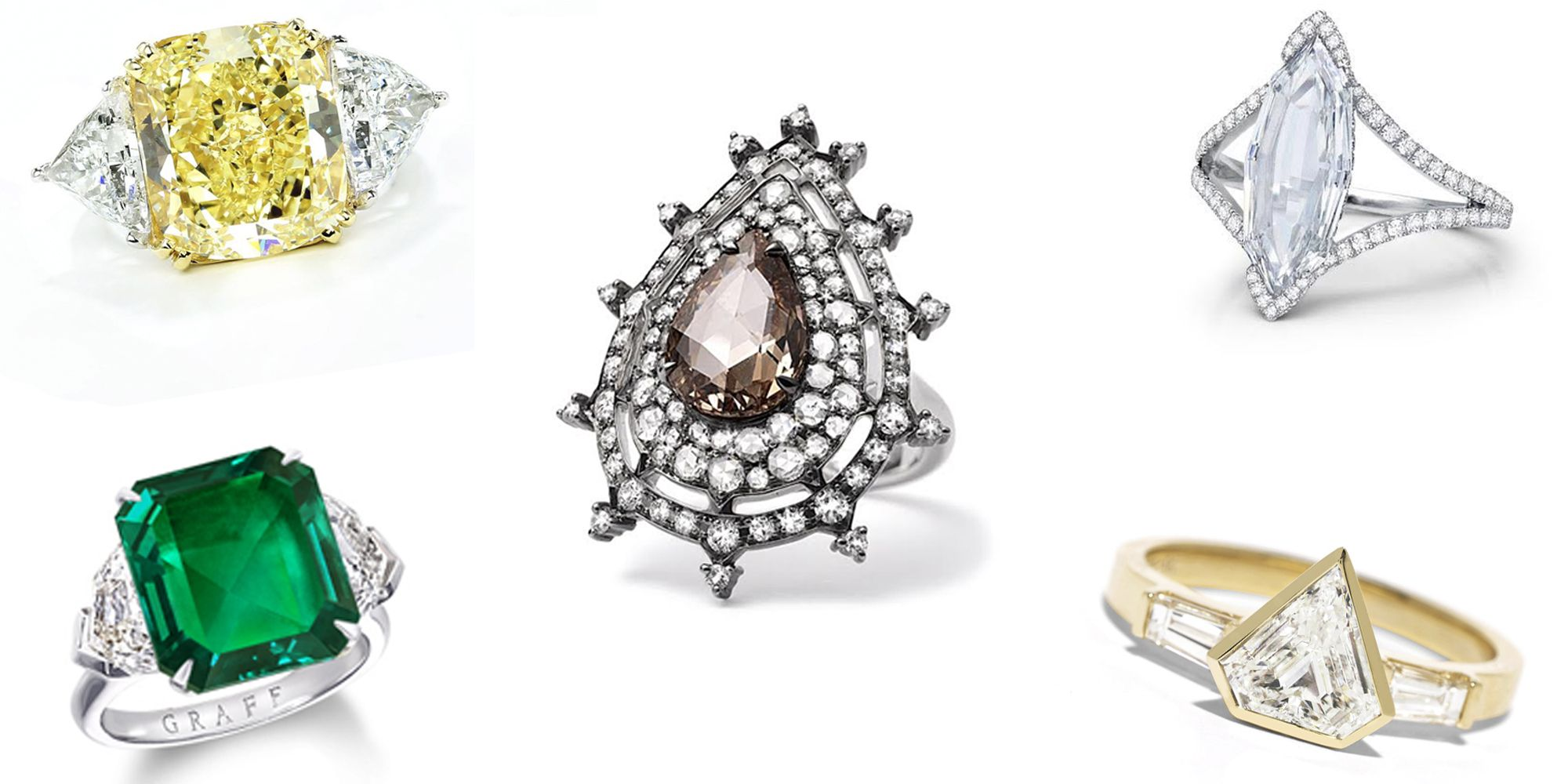 78 Alternative Engagement Rings for the Non-Traditional Bride