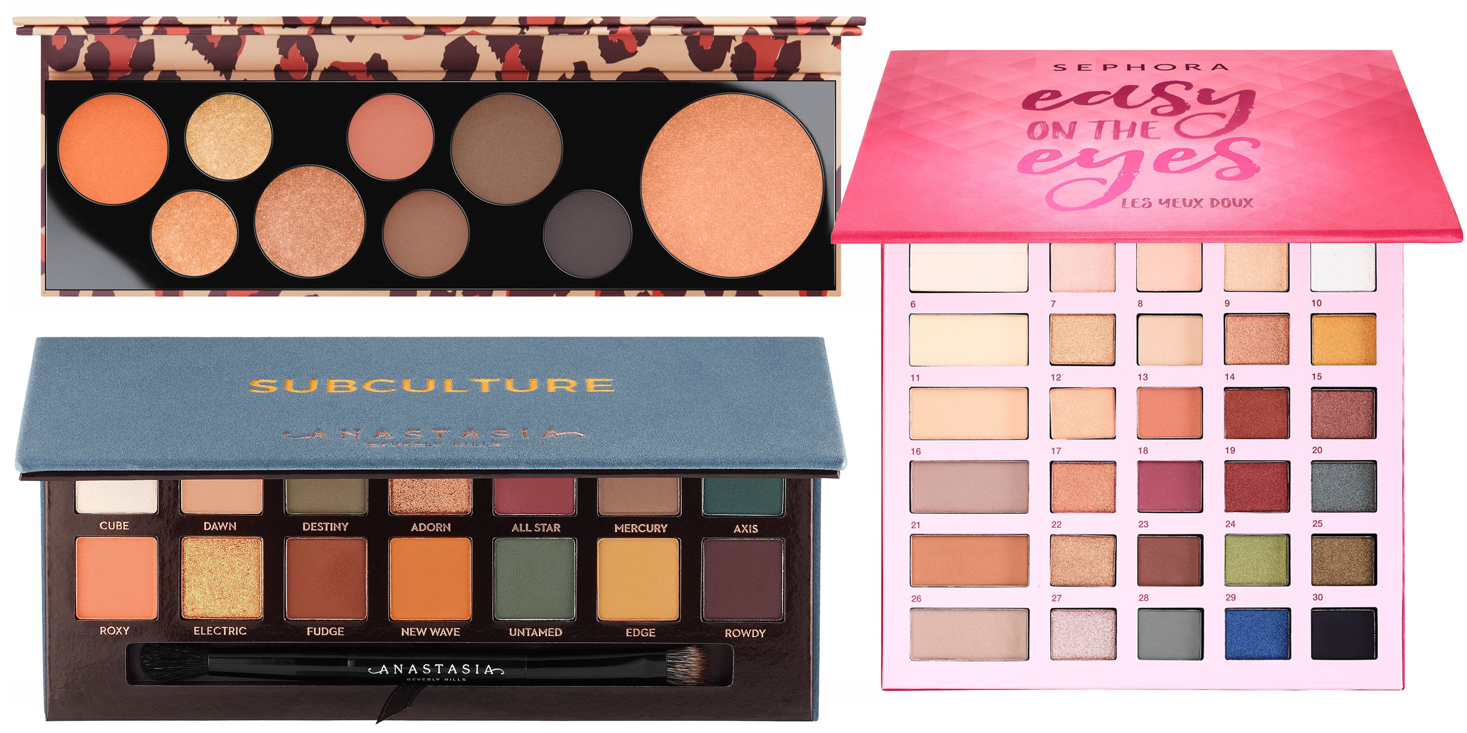 Get Gorgeous With Fall's Best New MakeupPalettes images