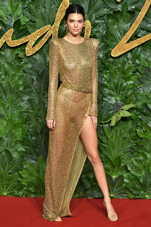 Kim Kardashian Just Wore the Sheerest Naked Dress Weve Ever Seen