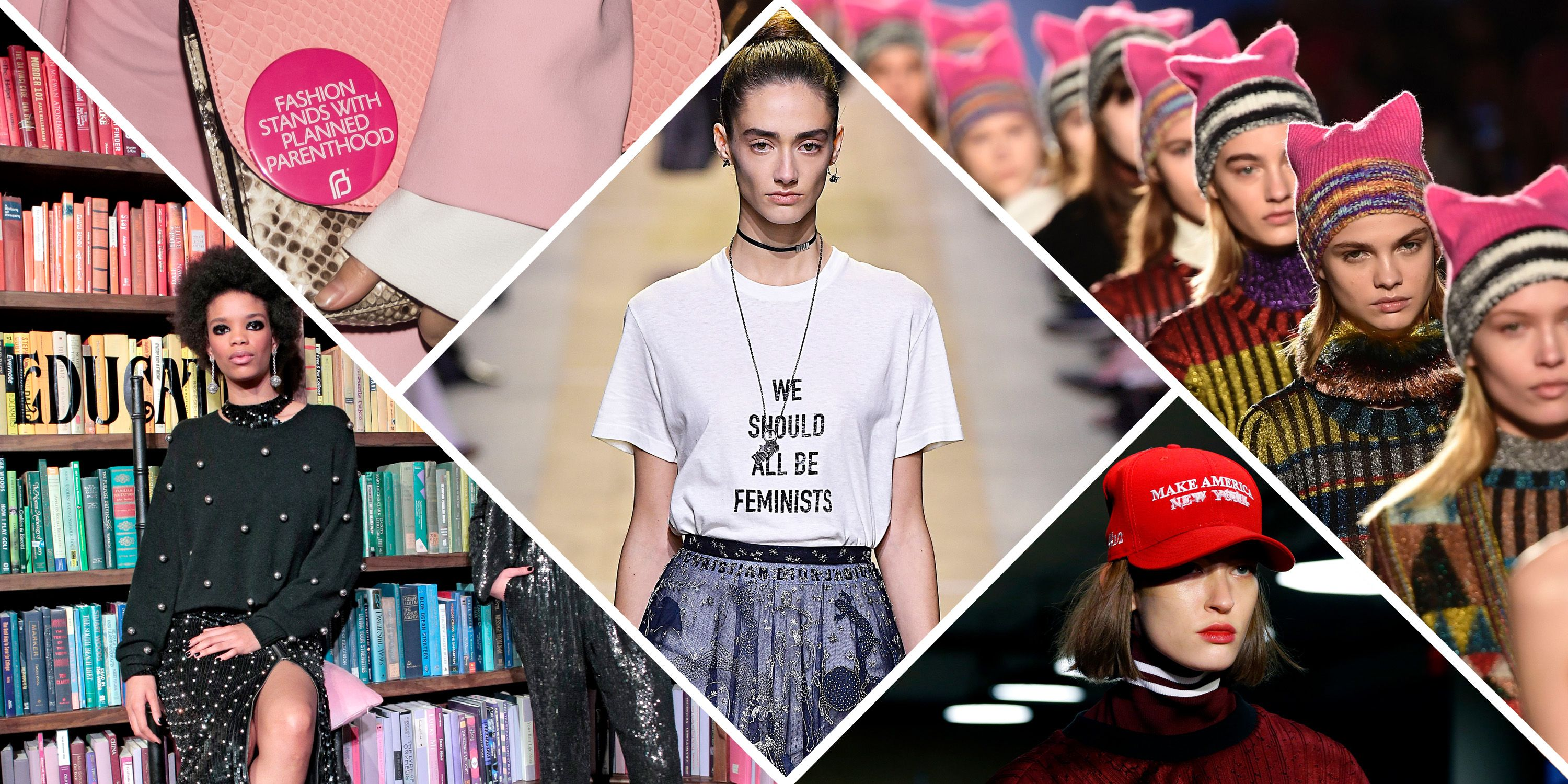 Should Fashion Designers Sell You Feminism Politics On The Runway At Fall 2018 Fashion Week