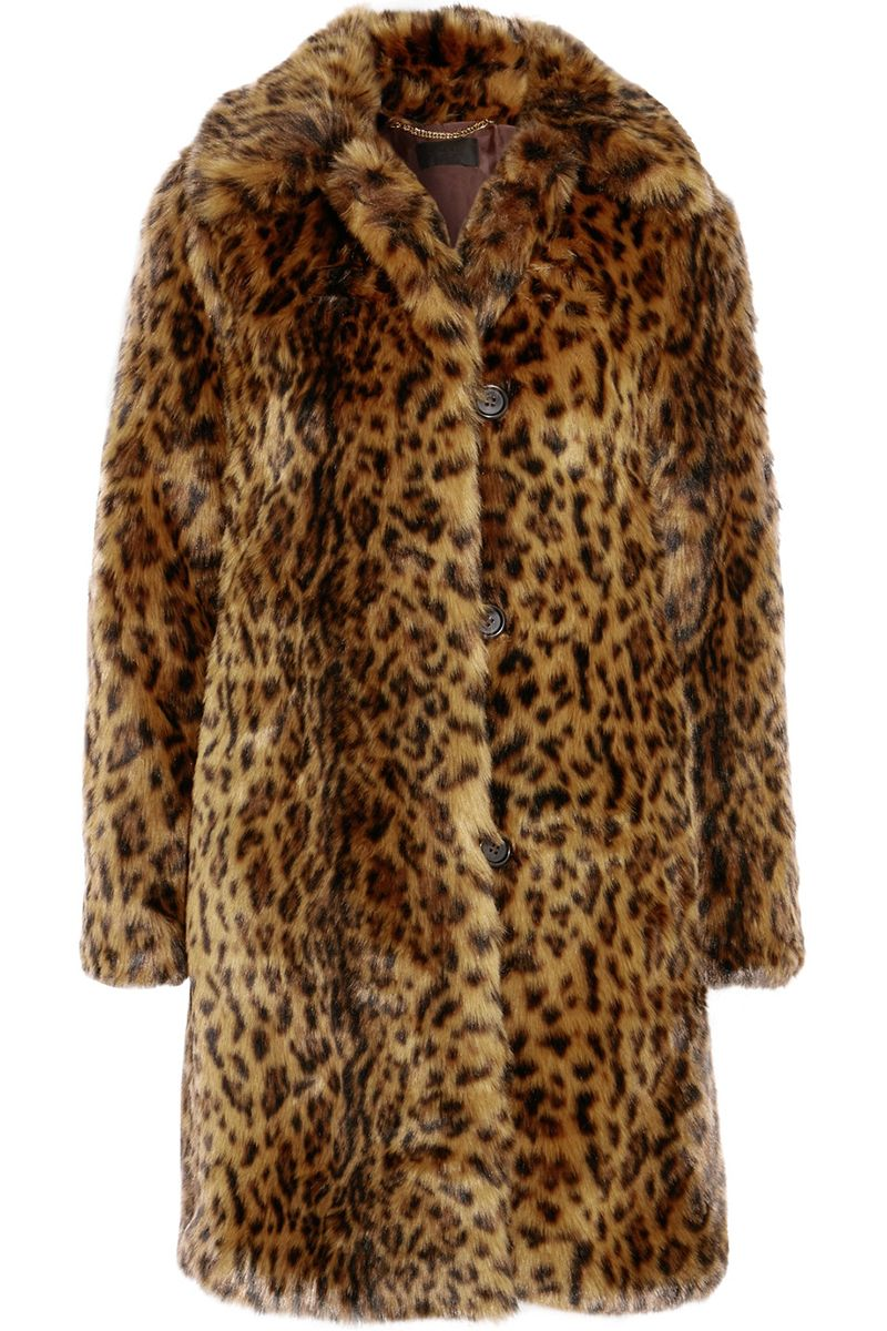Tara jarmon fake fur mantel