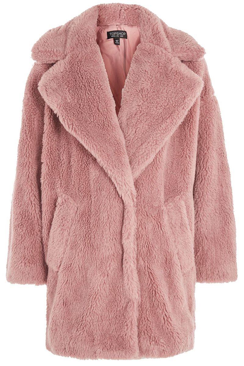 Tara jarmon fake fur mantel