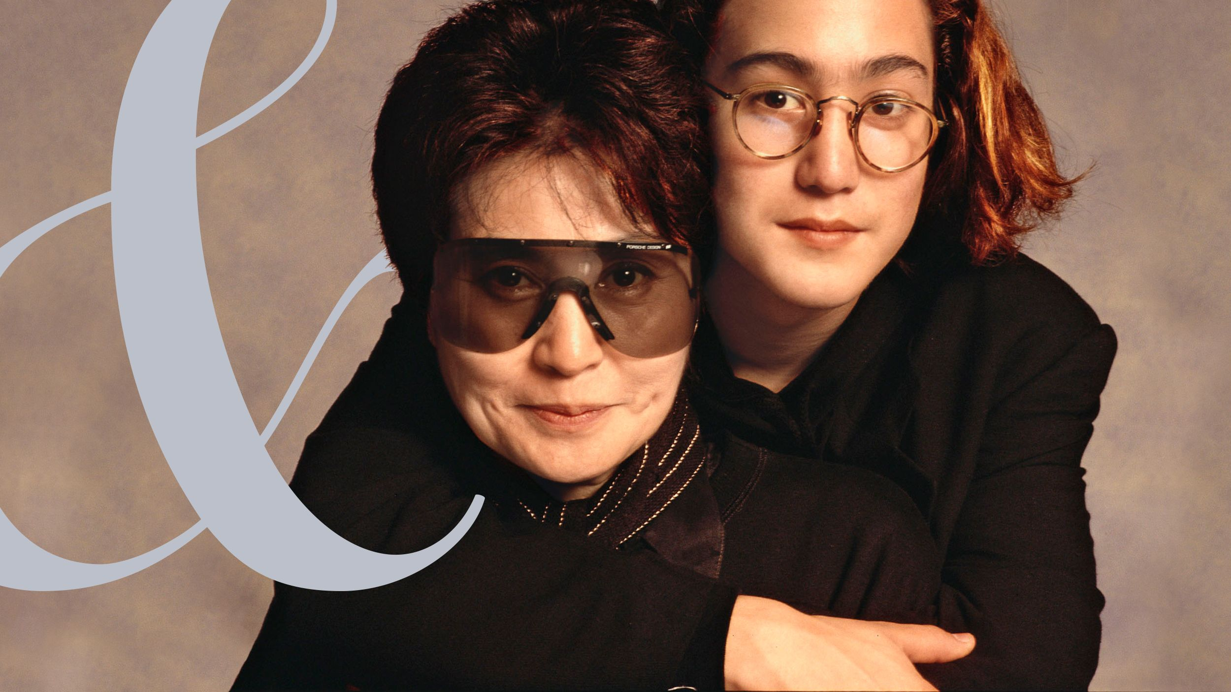 Yoko Ono And Sean Lennon Interview Yoko Ono Poses With Sean Lennon