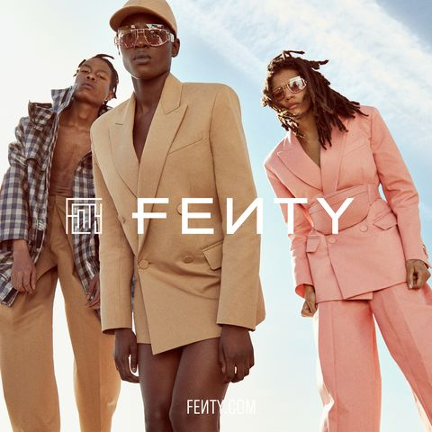Rihanna Fenty Fashion Brand Lvmh Rihanna First Fenty Collection