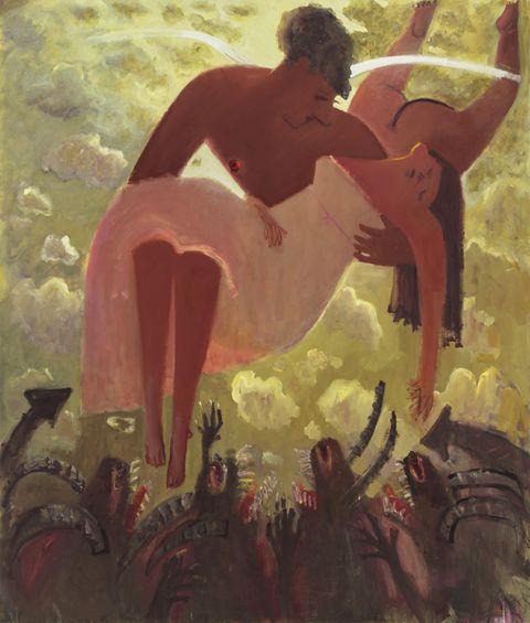 Painting, Art, Visual arts, Illustration, Mythology, Fictional character,