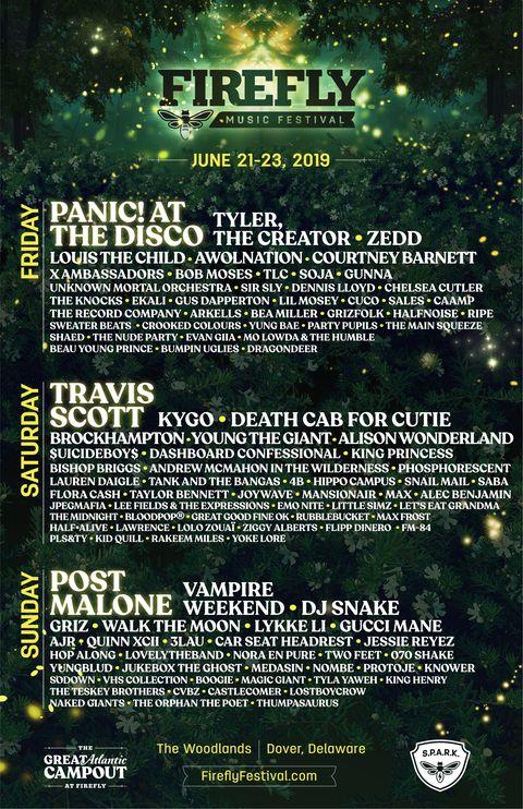 25 Best Music Festivals 2019 Summer Festival Lineup Schedule
