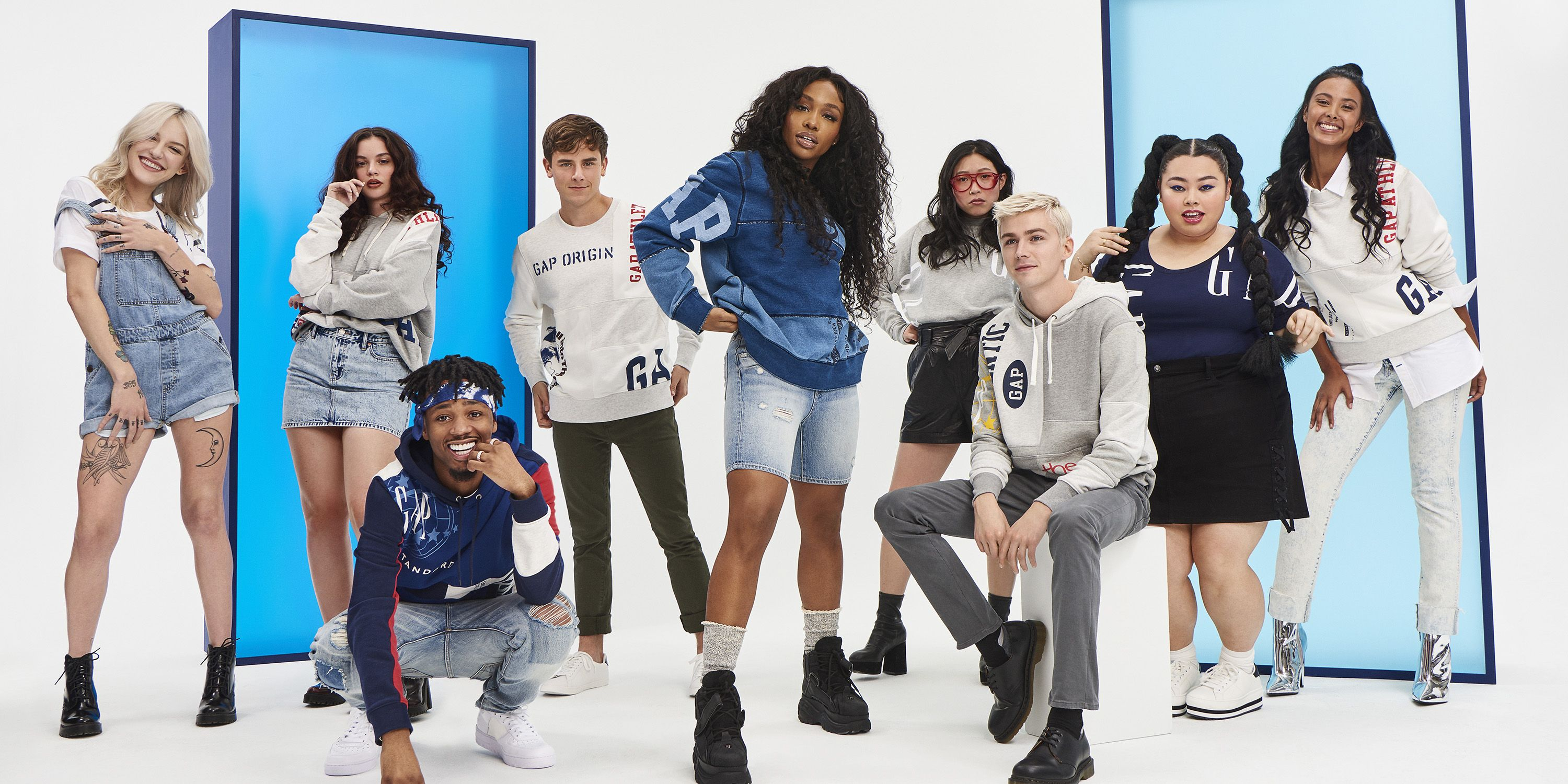 SZA, Metro Boomin and More Young Stars Model Gaps New Logo Remix Collection
