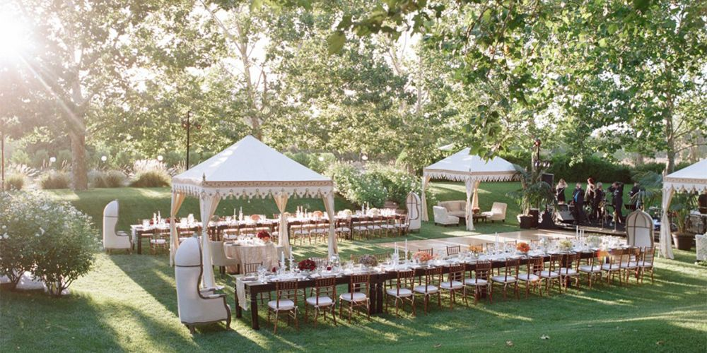 33 Best Outdoor Garden Wedding Venues Where To Host A