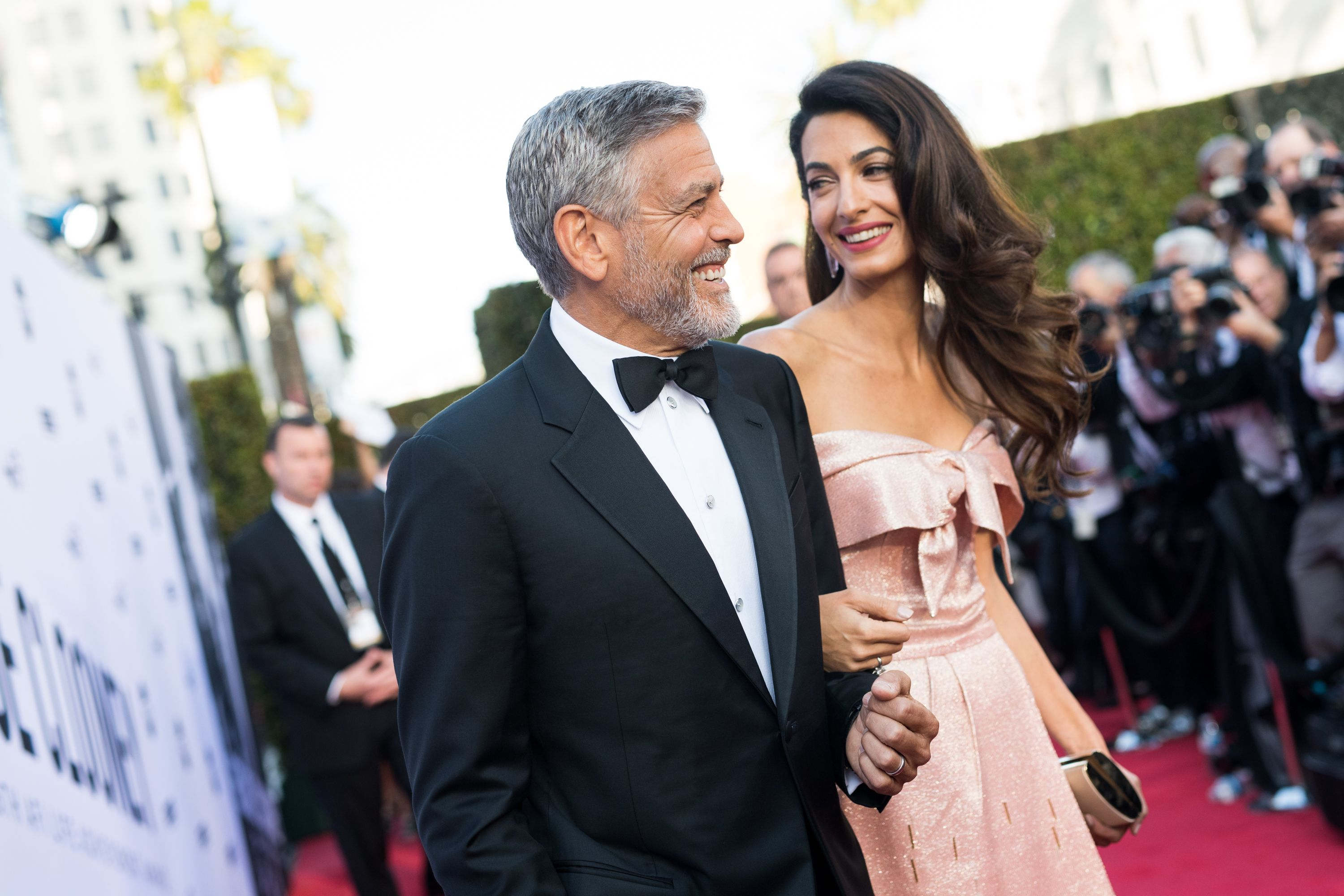 George and Amal Clooney Just Adopted the Cutest DogEver photo