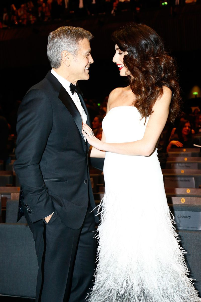 a4f097c5a1dc2 George and Amal Clooney s Cutest Moments - Photos of George and Amal Clooney