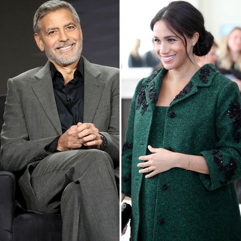 "George Clooney Calls Out the Press for Being ""Unjust"" to Meghan Markle"