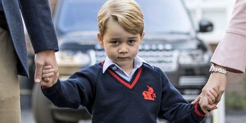 Child, Uniform, Hand, Gesture, Toddler, Family car,