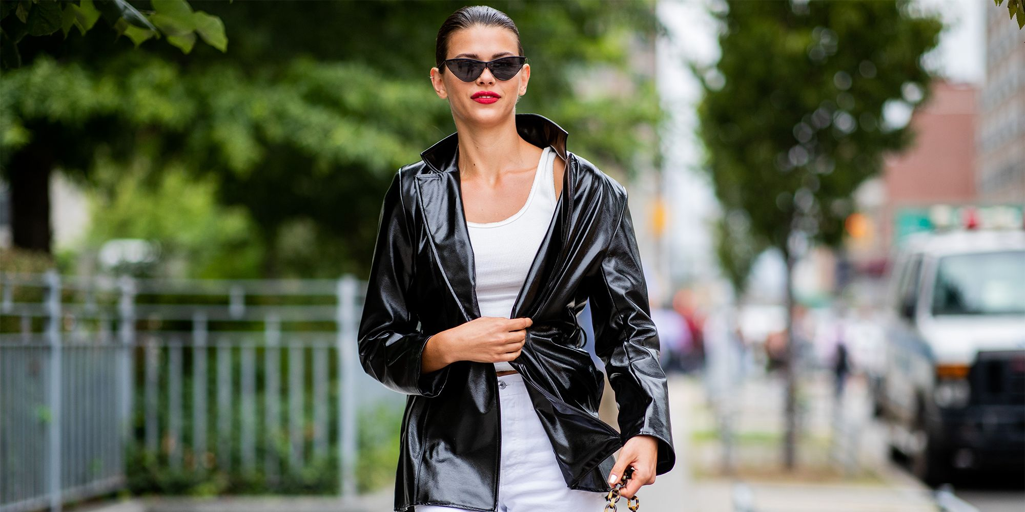 The Best Leather Jacket Looks To Shop For Fall