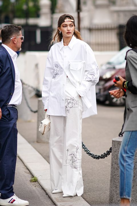 Street Style : Paris Fashion Week - Menswear Spring/Summer 2020 : Day Three