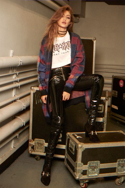 0811ee059 Gigi Hadid and Tommy Hilfiger Fall 2017 Collection - Gigi Hadid and ...