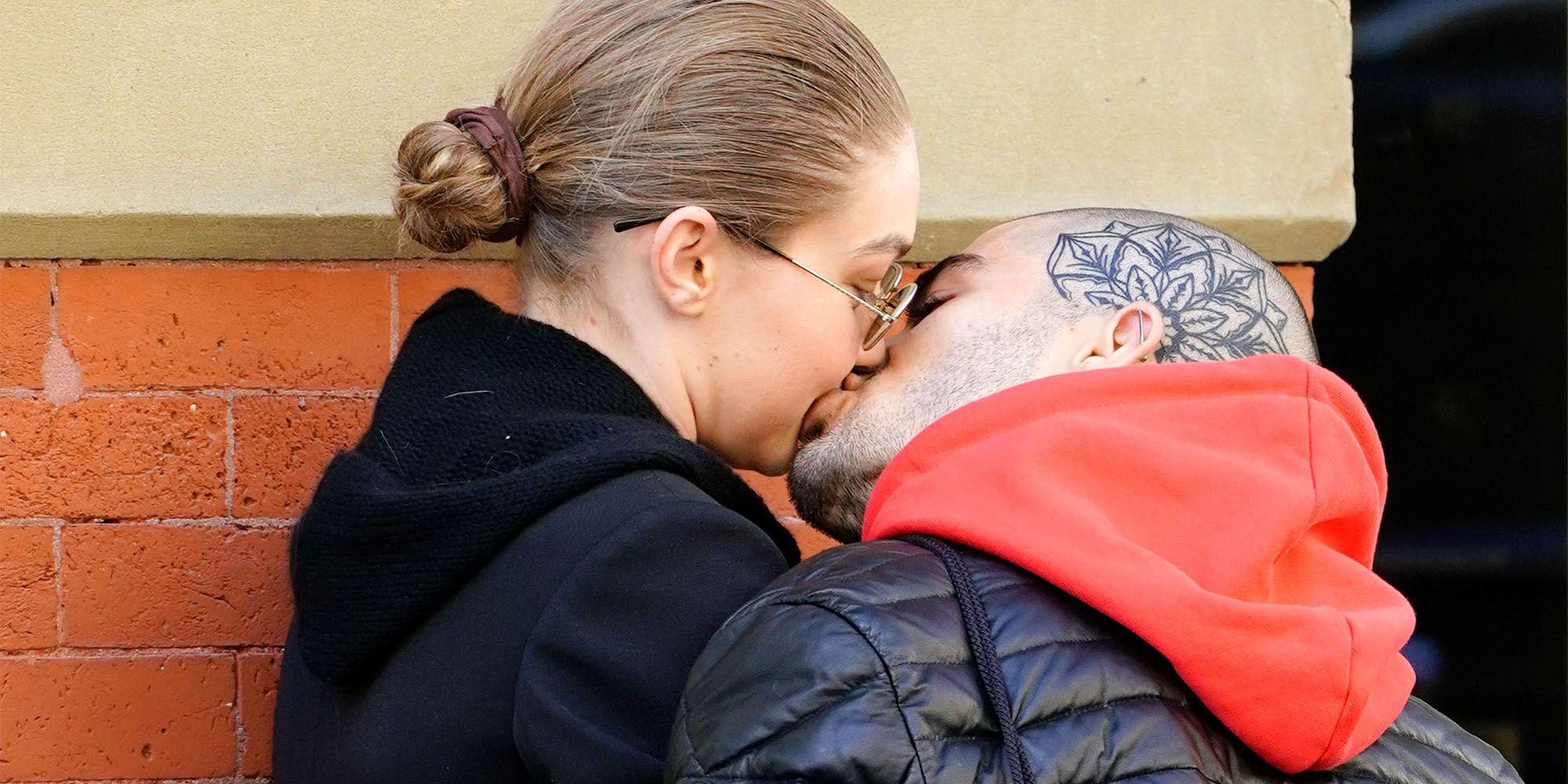 Gigi Hadid And Zayn Malik Were Just Seen Kissing In Public