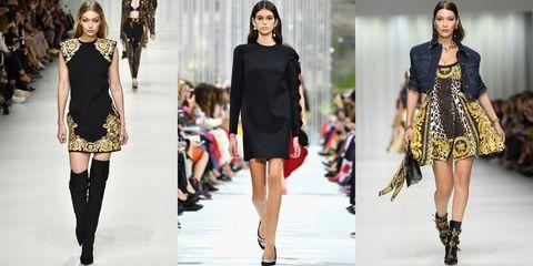 Fashion model, Clothing, Fashion, Runway, Fashion show, Dress, Footwear, Shoulder, Fashion design, Shorts,