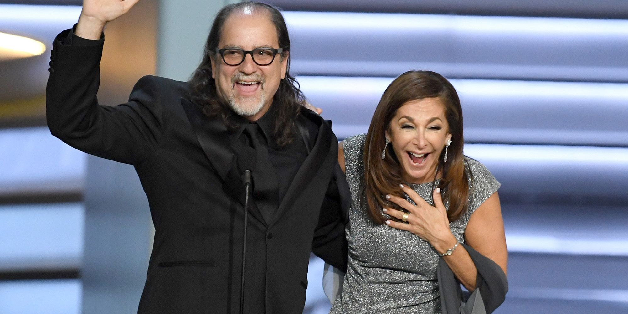 An Oscars Director Just Proposed to His Girlfriend Onstage at the Emmys and Im Weeping