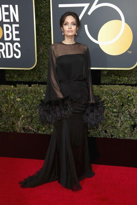 Angelina Jolie Wears Custom Ralph & Russo to the Critics\' Choice ...