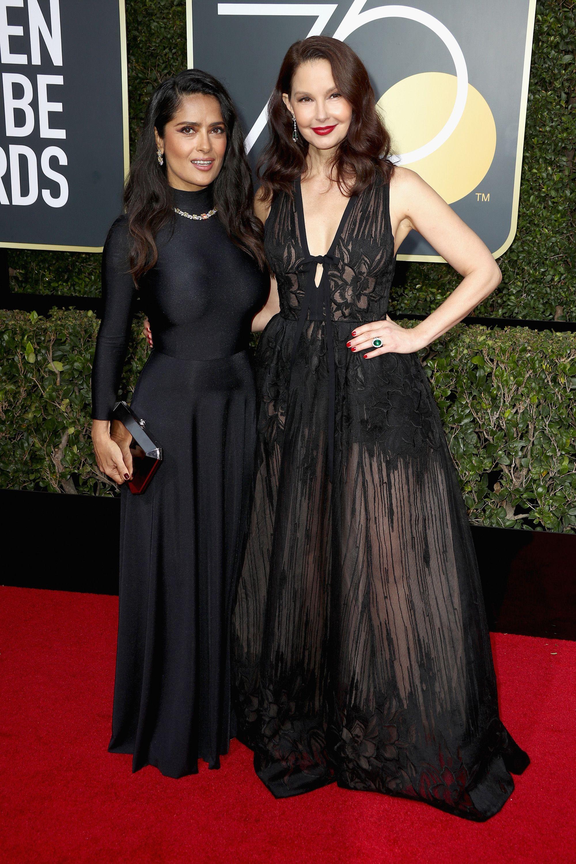 Black and Ivory Dress Celebrity