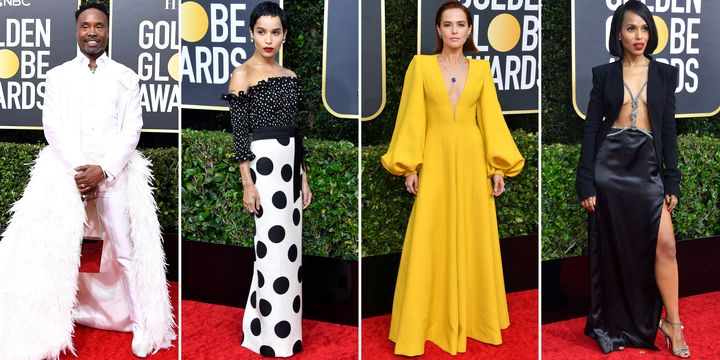 The Best Dressed at the 77th Annual Golden Globes