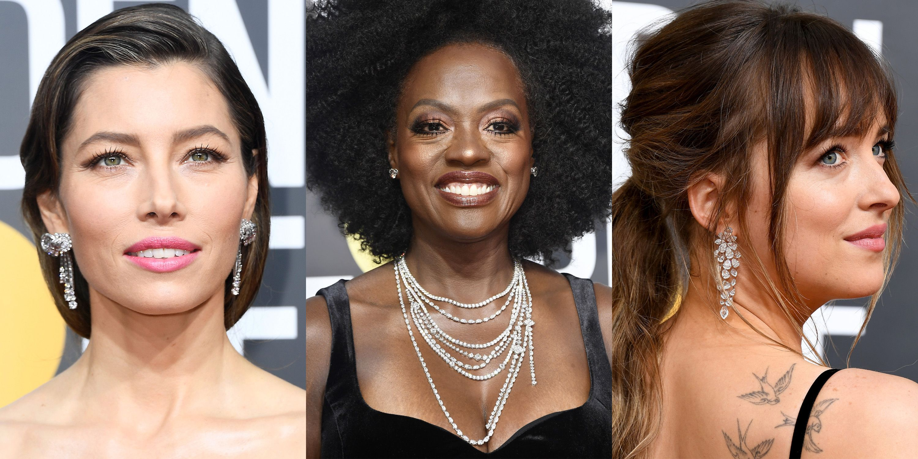 The Best Jewelry From the 75th Annual Golden Globes