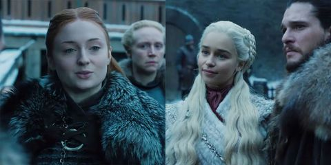 new game of thrones season 8 footage shows sansa stark