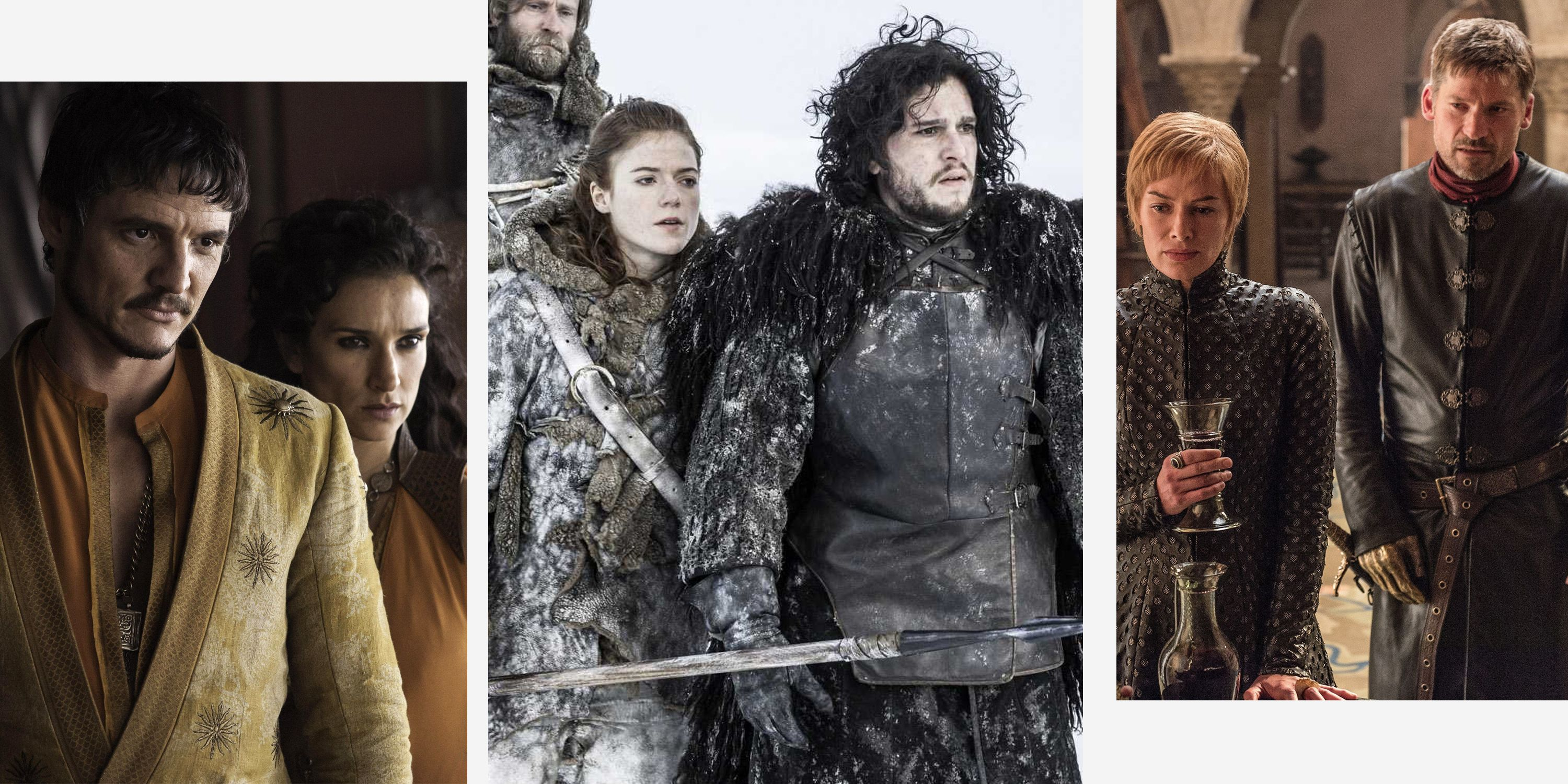 ca29f27852 28 Best & Worst 'Game of Thrones' Couples - GoT Relationships We'll Never  Forget