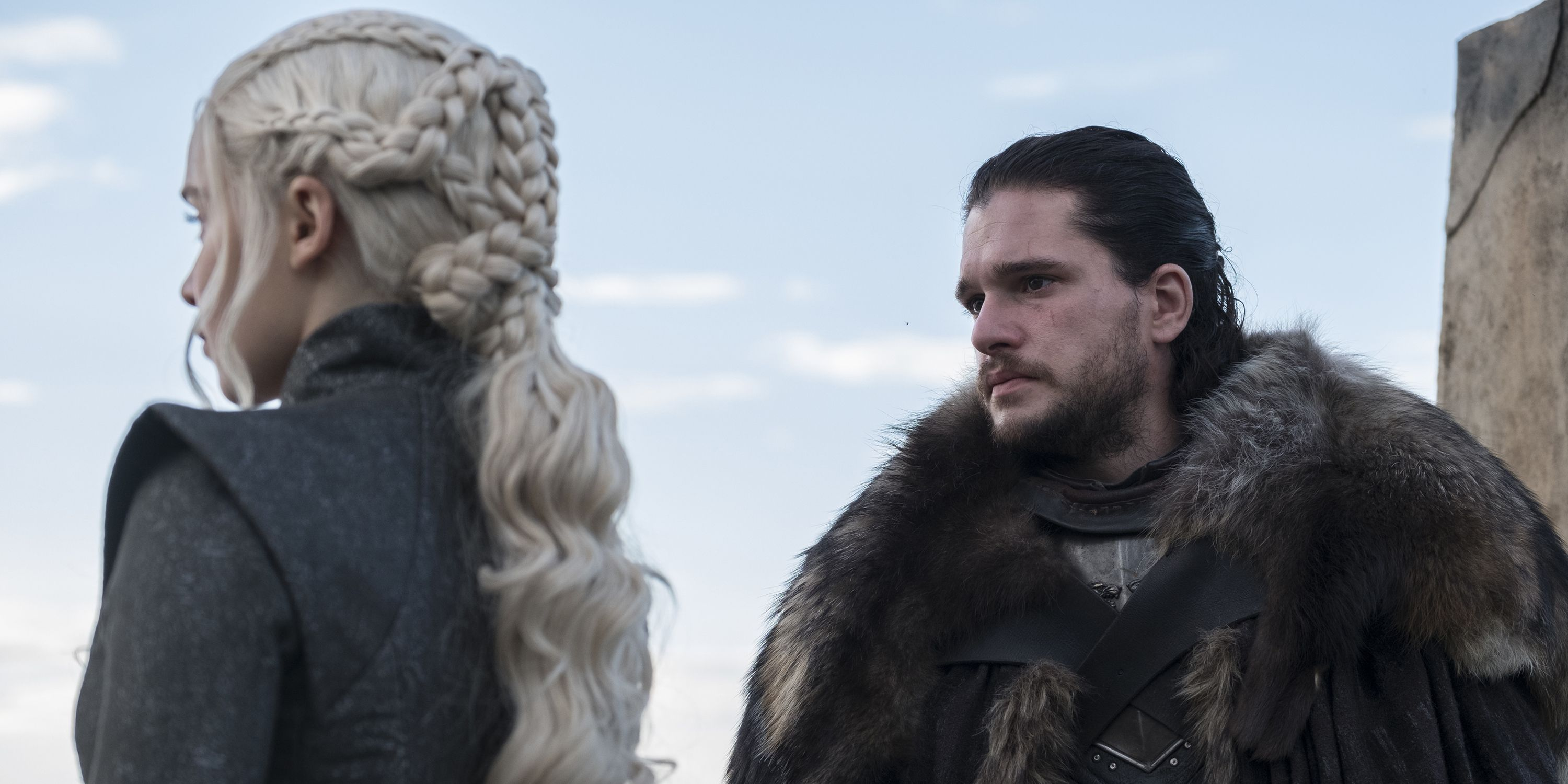 Image result for game of thrones season 7 episode 3 jon and davos throne room