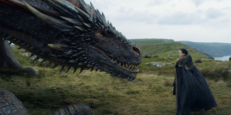 Resultado de imagen para jon touching the dragon