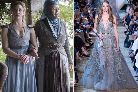 Elie Saab Channels Game of Thrones - Elie Saab Fall 2017 Couture