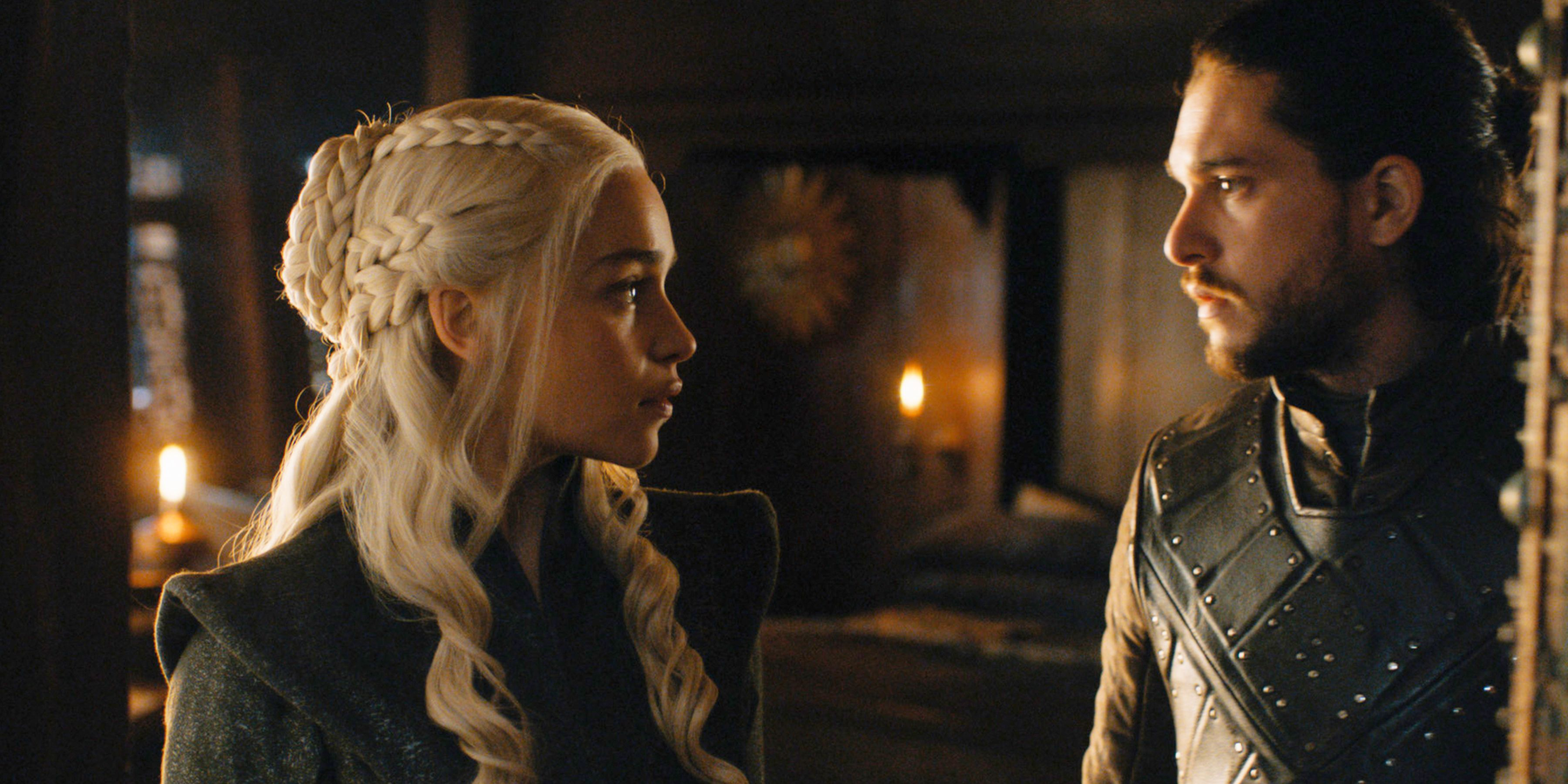 Jon Snow and Daenerys Targaryen Relationship Timeline - Best Game of
