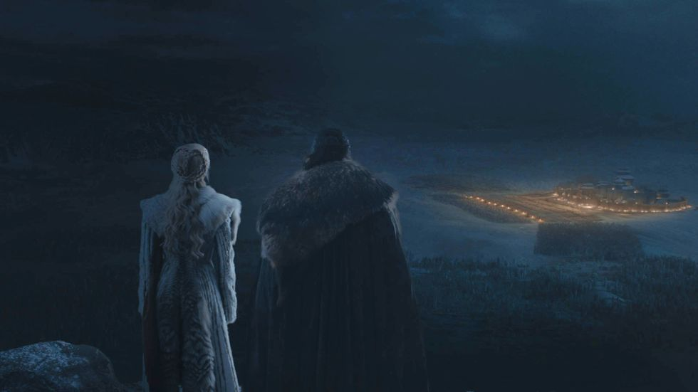 Brace For Certain Death With These New Photos from Game of Thrones Upcoming 'Battle of Winterfell' Episode