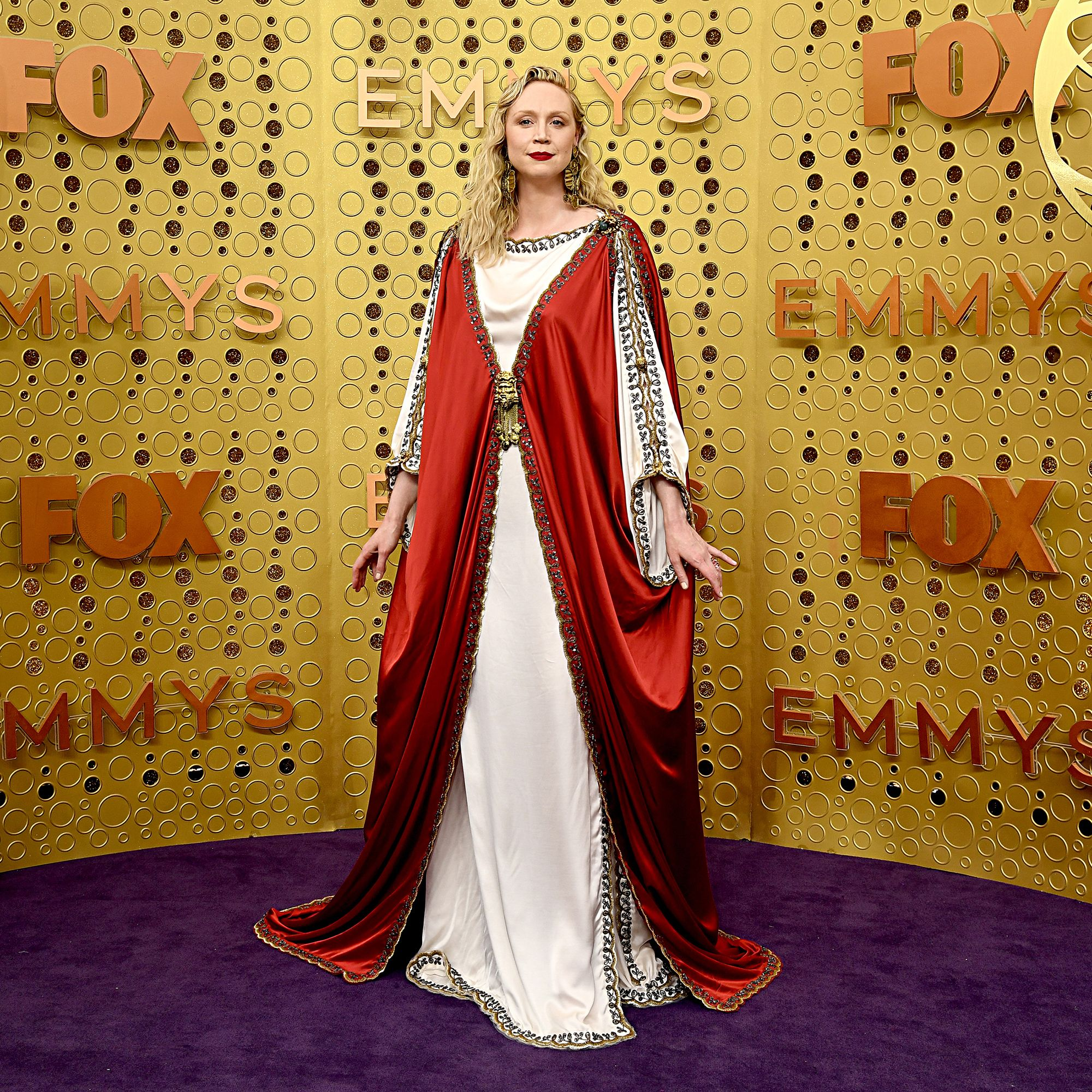 Gwendoline Christie's Emmys 2019 Look Draws Comparisons to Jesus and the Lannisters