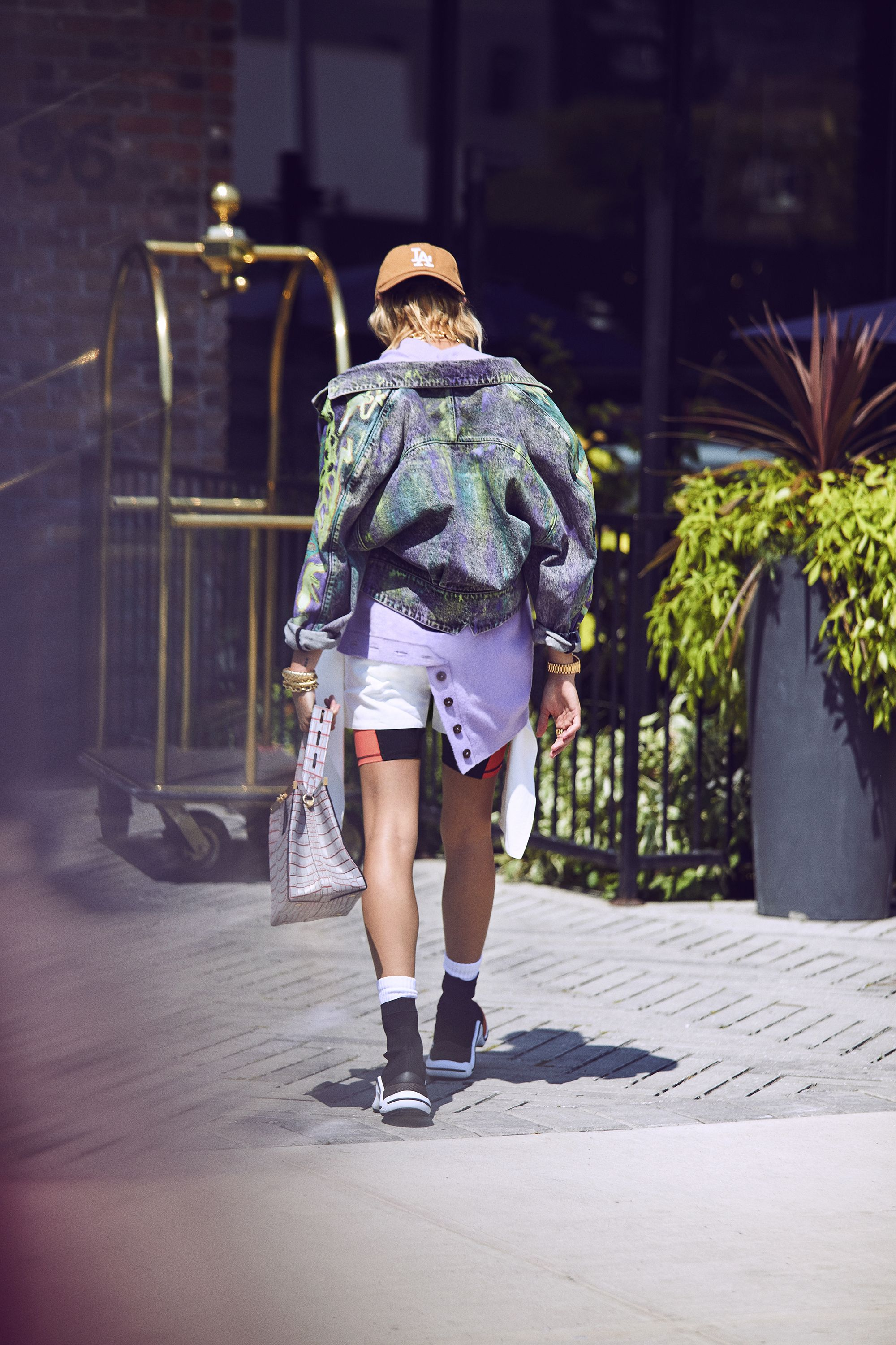 The new face of Tommy Hilfiger heads to Brooklyn in the season's chicest tomboy-inspired looks.