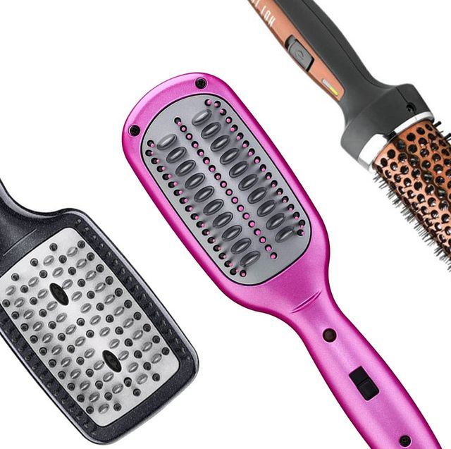 12 Straightening Hair Brushes That Actually Work Best Straightening Hot Hair Brush