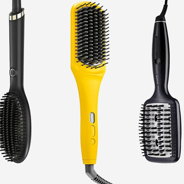 9 Straightening Hair Brushes That Actually Work Best