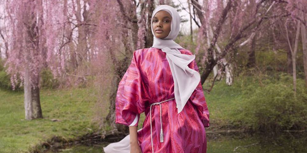 Image result for Halima Aden First Fashion Campaign