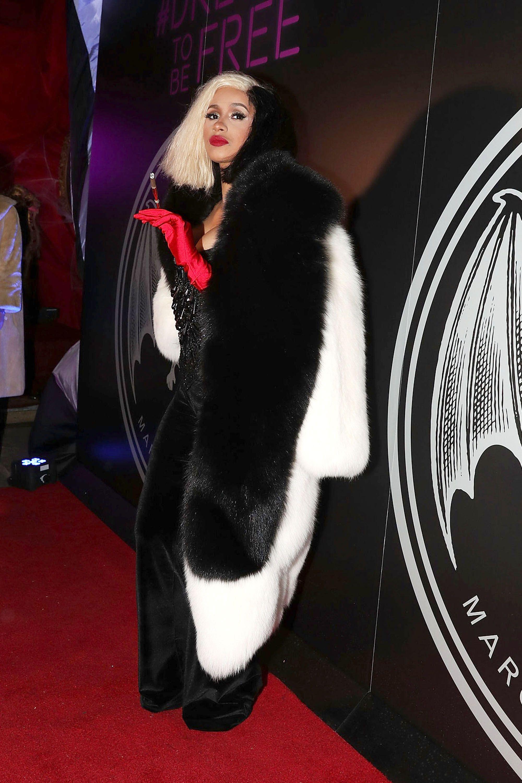 hbz halloween 2017 cardi b gettyimages 868485948 1531332641 - Top Celebrity Halloween Costumes