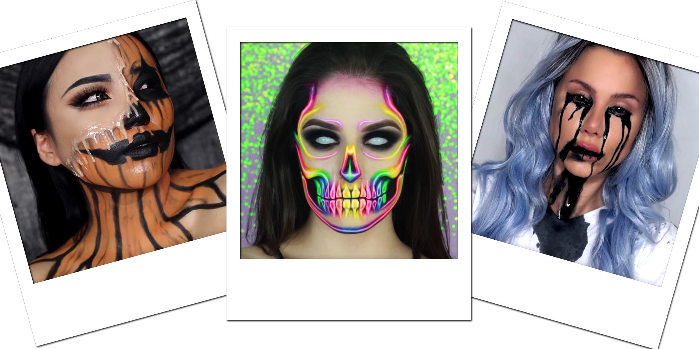 19 Creepy And Cool Halloween Makeup Tutorials